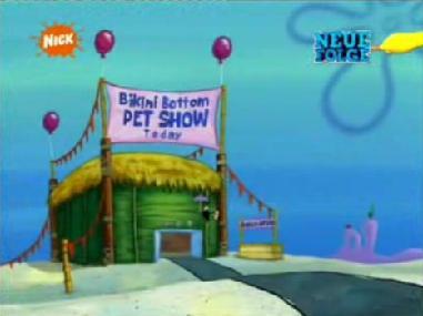 BikiniBottomPetShow