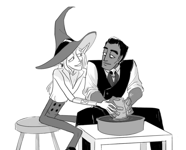 File:Taako and Kravitz by Bethpecoraart.png