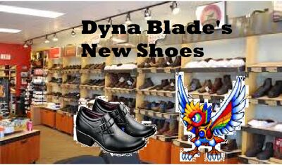 Dyna Blades New Shoes