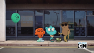 Gumball, Darwin Watterson and Mrs Fitzgerald on The Gripes 8