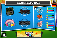 Toon Cup Selecting Team