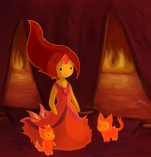 Flame princess by tracythewhitecat-d4udnwj