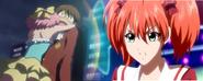 Kokoa jealous that Kanon confesses love to Keima.