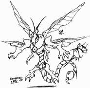 Rough shadowkan doodles14 by kainsword kaijin-d8psxkk