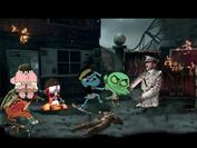 Tawog and worms in nuketown zombies by josael281999-d6m19mi