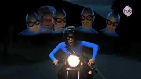 """The Aquabats! Super Show! """"EagleClaw"""" (Clip 2) - The Hub"""