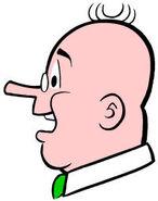 Mr Weatherbee Profile Head