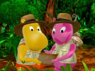 The Backyardigans Quest for the Flying Rock 11 Uniqua Tasha