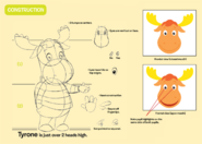 The Backyardigans Tyrone Character Construction Guide