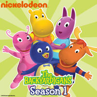 The Backyardigans Season 1 - iTunes Cover (United States)