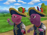 Backyardigans The Two Musketeers 18 Uniqua Austin