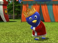 King Pablo at Tea Party