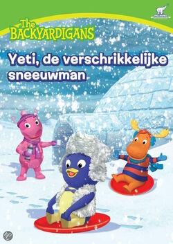 The Backyardigans Yeti, de verschrikkelijke sneeuwman Nederlands DVD