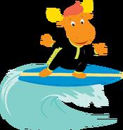 The Backyardigans Beach Bonanza Tyrone Surfing