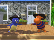Backyardigans The Two Musketeers 1 Pablo Tyrone
