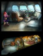 The Backyardigans Austin-Ji on Plane Concept Art