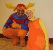 The Backyardigans Tyrone and Tasha from Nickelodeon Storytime Live!
