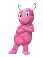 The Backyardigans Uniqua Cross-Armed Nickelodeon Nick Jr. Character Image