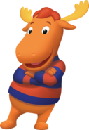 The Backyardigans Tyrone Cross-Armed Nickelodeon Nick Jr. Character Image