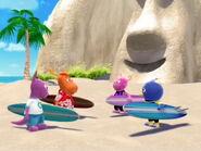 Surf's Up Cast