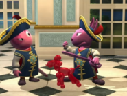 Backyardigans The Two Musketeers 45 Uniqua Austin
