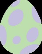The Backyardigans Dragon as Egg
