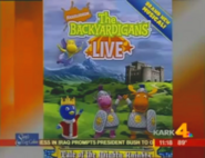 The Backyardigans Live Commercial on NBC News