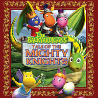 The Backyardigans Tale of the Mighty Knights Dragon - iTunes Cover (Canada)