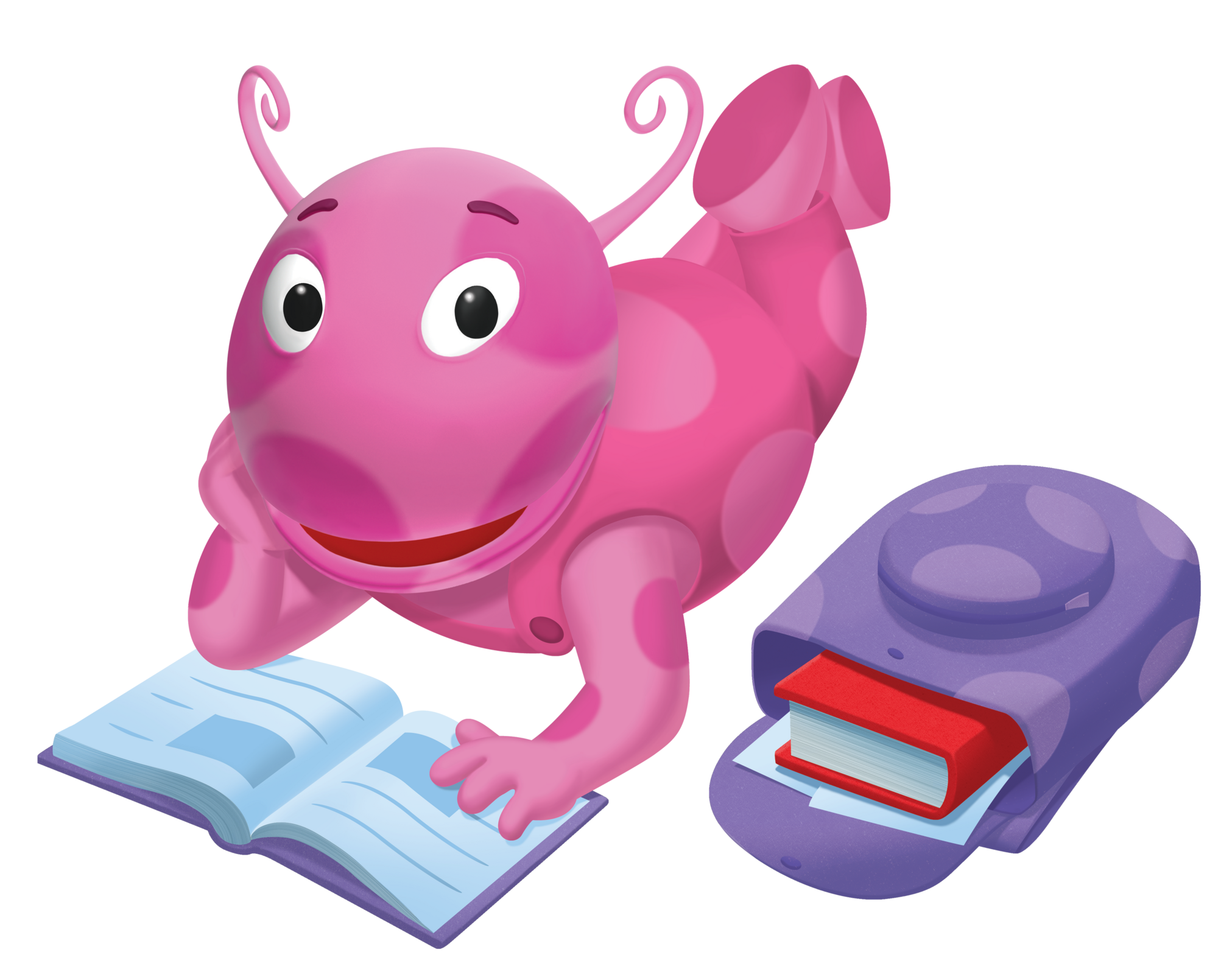Uncategorized Pink Backyardigan uniquaimages the backyardigans wiki fandom powered by wikia uniqua backpack nickelodeon nick jr character image