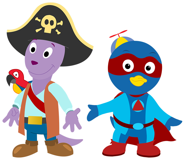 Pirate Austin And Superhero