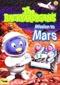 Dvd cvr backyardigansmars