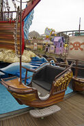 The Backyardigans Pirate Treasure Cart at Pleasure Beach Blackpool