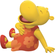 The Backyardigans Tasha Laughing Nickelodeon Nick Jr. Character Image