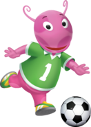 The Backyardigans Uniqua Soccer Nickelodeon Nick Jr. Character