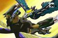 Aqua Raid attacking Mag
