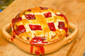 Royalty-free-stock-photo-strawberry-pie-image19828335