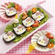 Hello kkitty sushiiiiiiii
