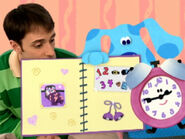 Blue's Clues Tickety Tock with Photo Album