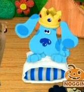 Princess blue angry