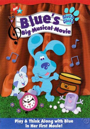 Blue's Big Musical Movie DVD Cover