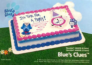 Blue's Clues Toys - 2003 DecoPac Cake Toppers