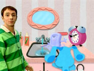 Blue's Clues Tickety and Slippery at the Sink
