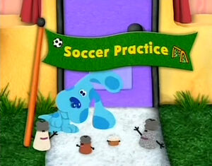 Soccer Practice Title Card