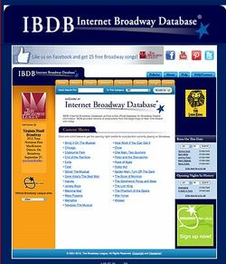 Internet Broadway Database Image