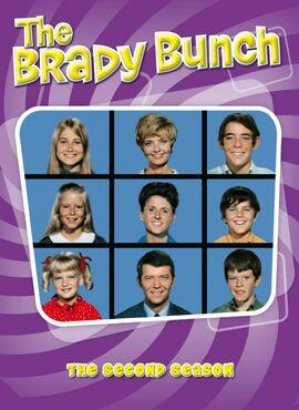 The-Brady-Bunch-Season 2-DVD-cover