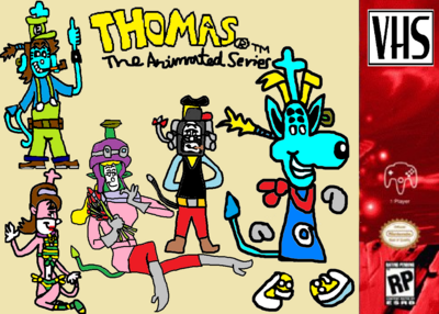 Thomas's All New Animated Series (VHS) Poster.