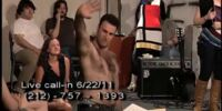 Don Fanelli Takes His Shirt Off