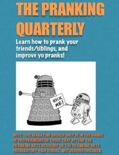 Pranking Quarterly Cover