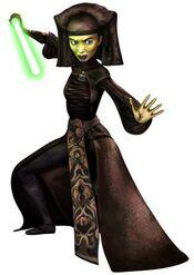 Jedi master luminara unduli