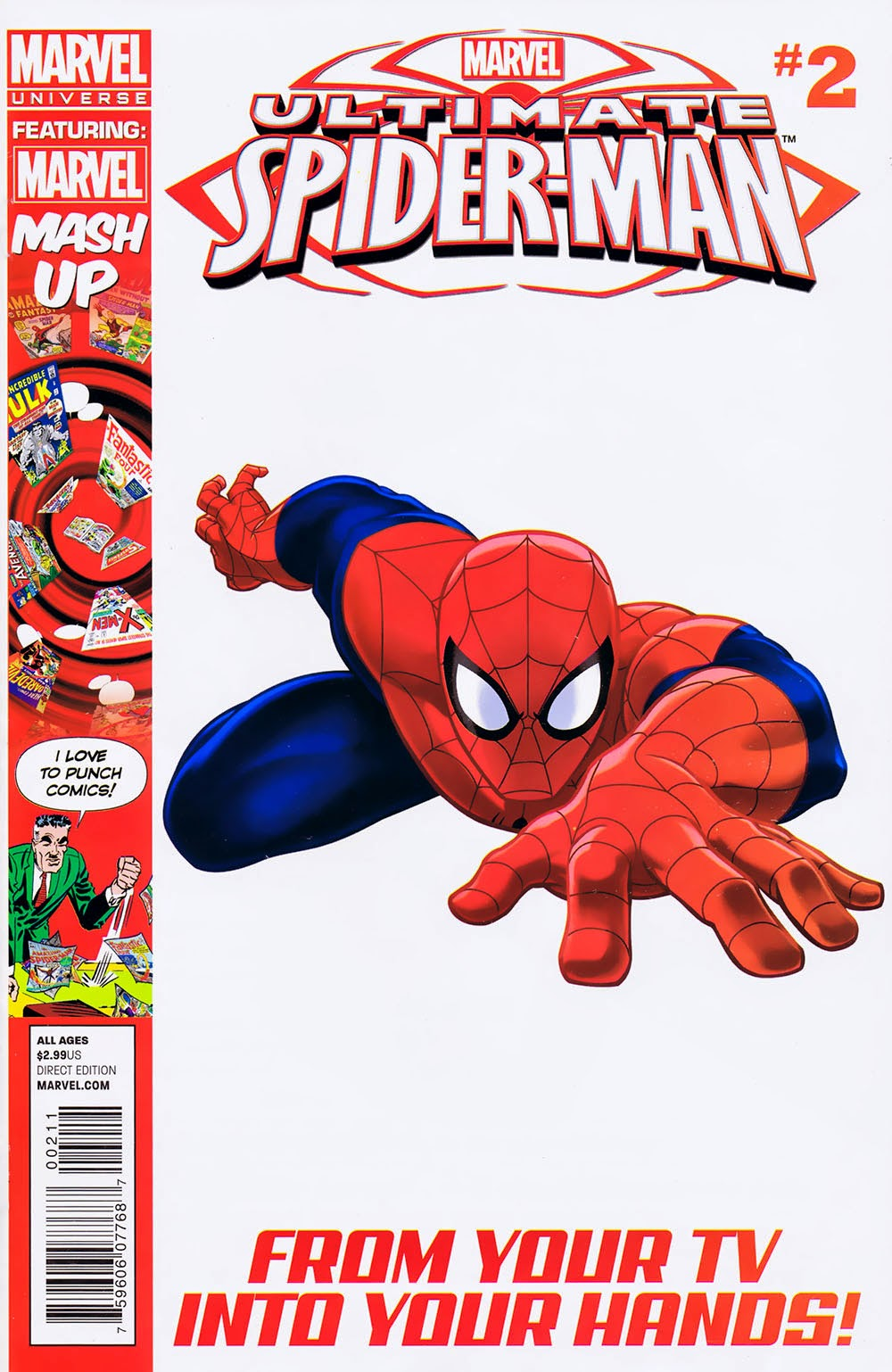 File:Ultimate Spider-Man Issue 2 Cover.jpg